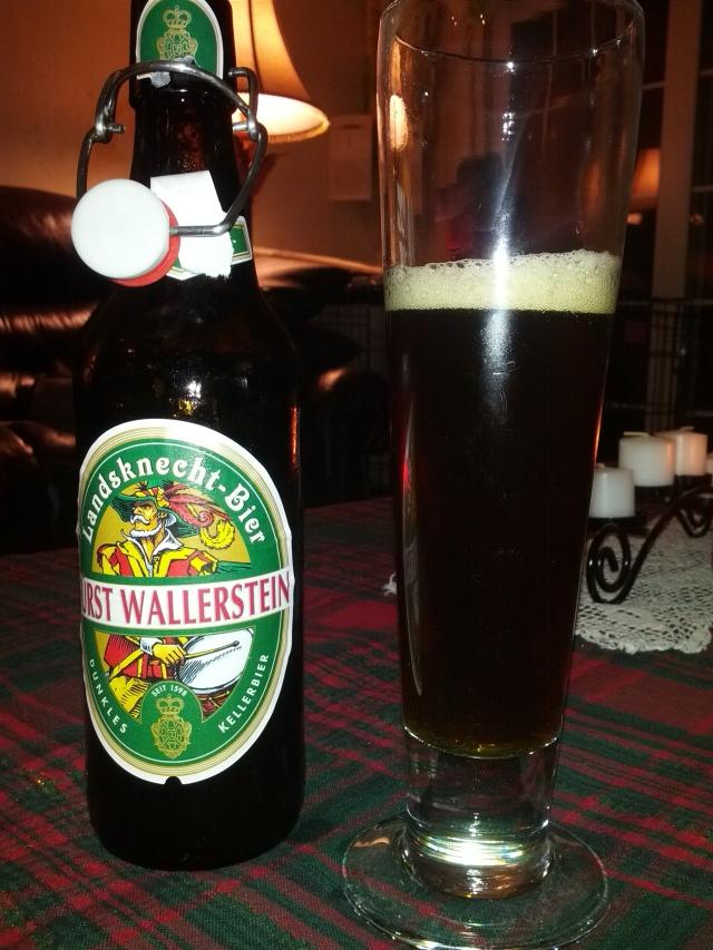 Furst Wallerstien Landskuecht-Bier