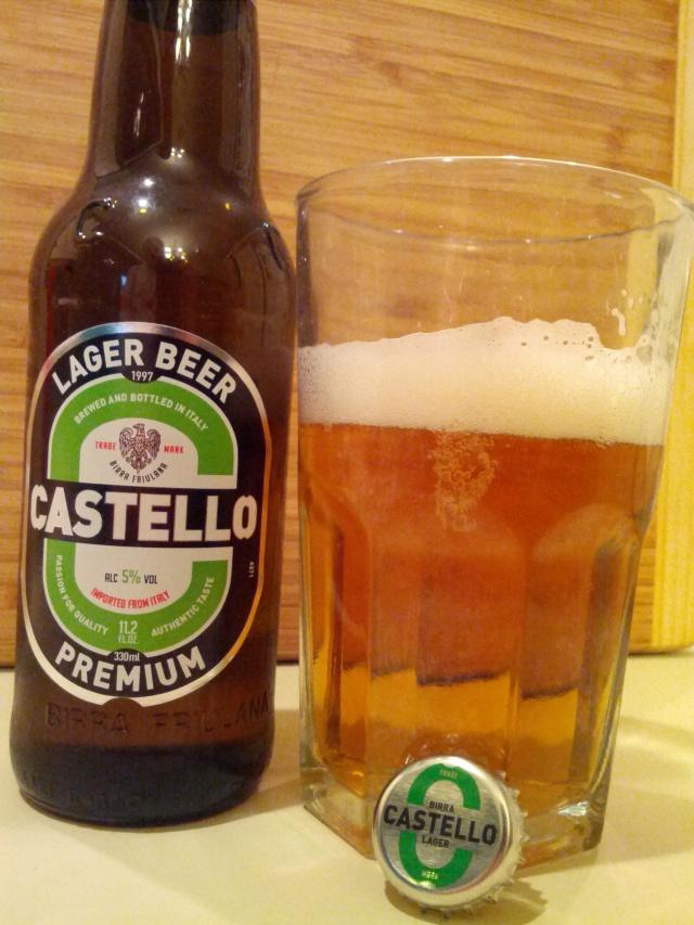 Castello Premium Lager Beer