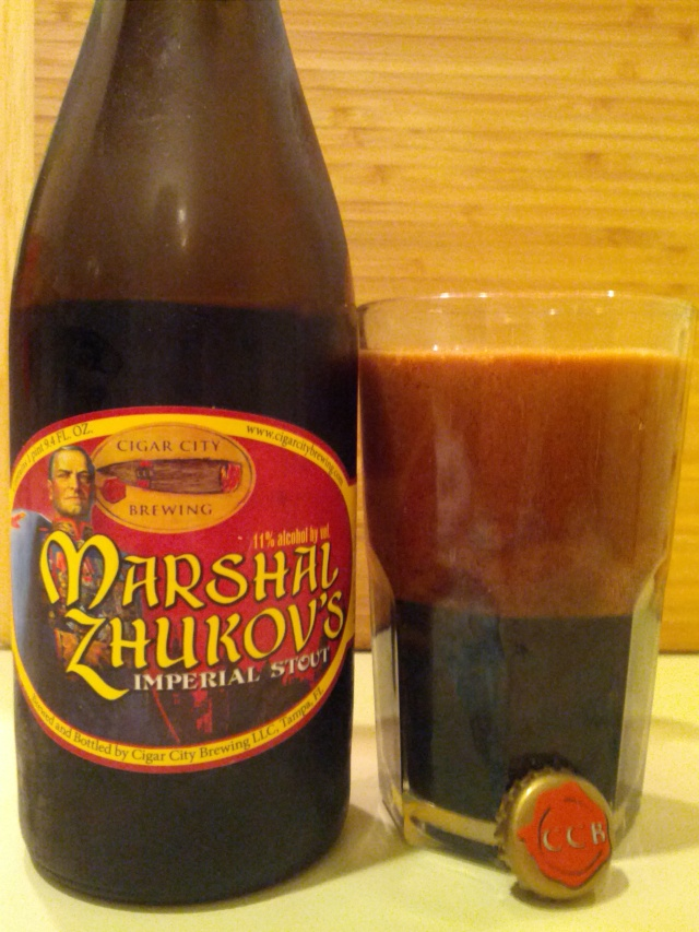 Cigar City Marshal Zhukov's Imperial Stout