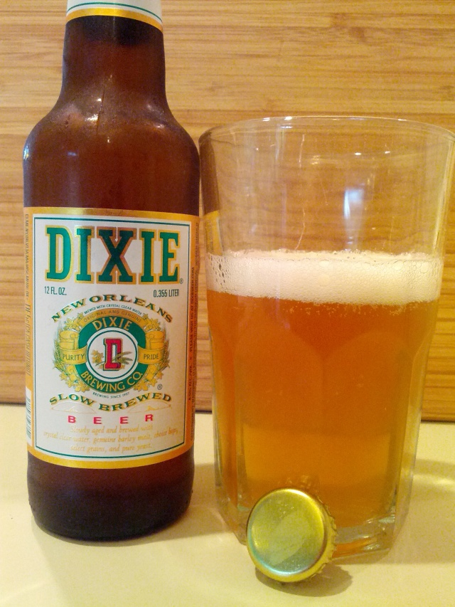 Dixie Slow Brewed Beer
