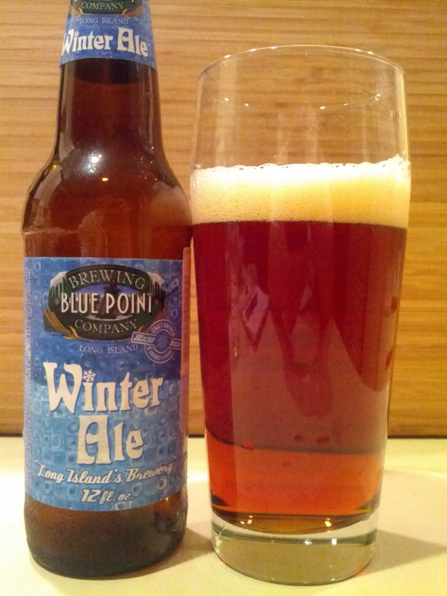 Blue Point Brewing Winter Ale
