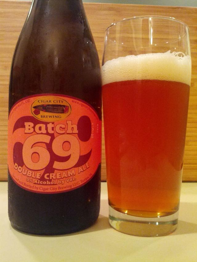 Cigar City Batch 69 Double Cream Ale