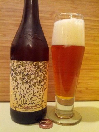 DogFish Head & Sierra Nevada Life & Limb Rhizing Bines