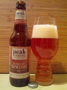 Peak Organic Brewing Simcoe Spring Ale